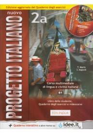 Nuovo Progetto italiano 2A podręcznik + ćwiczenia + DVD Edizione aggiornata