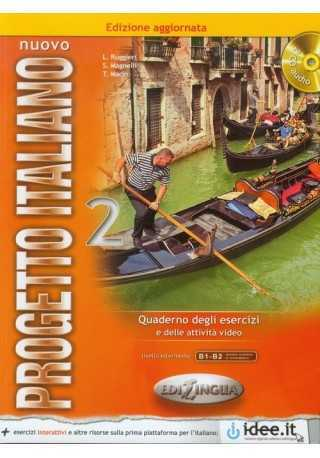 Nuovo Progetto italiano 2 ćwiczenia + CD audio