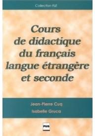 Cours de didactique du francais langue etrangere et seconde