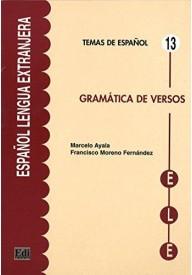Gramatica de versos Temas de espanol