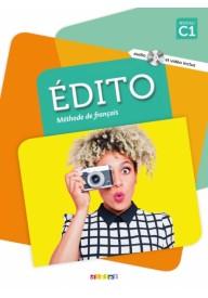 Edito C1 2ed podręcznik + płyta DVD (wyd. 2018)