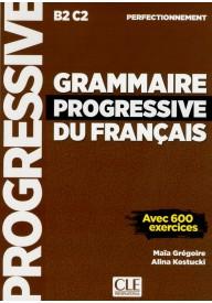 Grammaire progressive du Francais Perfectionnement książka B2-C2