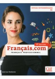 Francais.com intermediaire podręcznik+ DVD 3ed