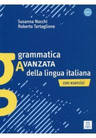 Grammatica avanzata della lingua italiana con esercizi
