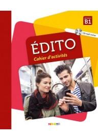 Edito B1 2ed ćwiczenia + CD MP3 (wyd. 2018)