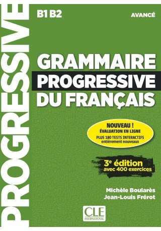Grammaire progressive du Francais avance B1/B2 książka + CD audio 3ed