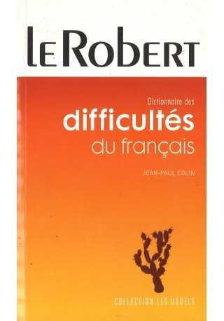 Dictionnaire poche des difficultes