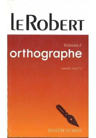 Dictionnaire poche d`orthographe