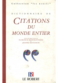 Dictionnaire usuels de citations du monde entier