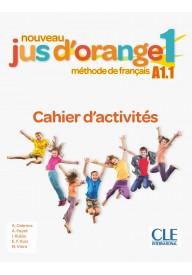 Jus d'orange nouveau 1 A1.1 ćwiczenia