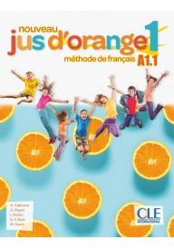 Jus d'orange nouveau 1 A1.1 podręcznik + DVD ROM