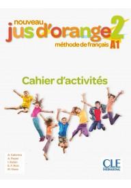 Jus d'orange nouveau 2 A1 ćwiczenia