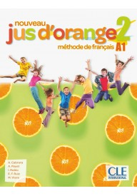 Jus d'orange nouveau 2 A1 podręcznik + DVD ROM