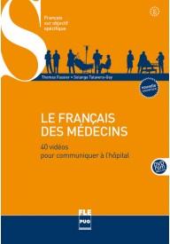 Francais des medecins B1-B2 książka z DVD ROM edycja 2014