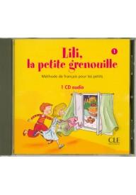 Lili la petite grenouille 1 CD audio 1