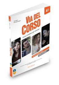 Via del Corso A1 wydanie dla nauczyciela + 2CD audio + DVD video