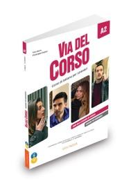 Via del Corso A2 wydanie dla nauczyciela + 2CD audio + DVD video