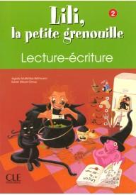 Lili la petite grenouille 2 zeszyt do nauki pisania