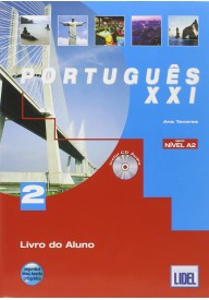Portugues XXI 2 podręcznik + ćwiczenia + CD