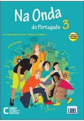 Na Onda do Portugues 3 podręcznik + CD audio