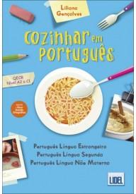 Cozinhar em portugues książka poziom A1 do C1