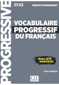 Vocabulaire progressif francais perfectionnement C1/C2 książka + CD