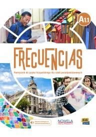 Frecuencias A1.1 podręcznik + zawartość online