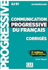 Communication progressive intermediaire 2ed A2/B1 klucz