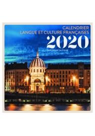 Kalendarz 2020 Język francuski Najpiękniejsze miasta