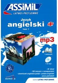 Język angielski łatwo i przyjemnie tom 1 książka + MP3