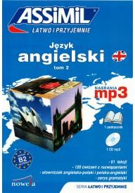 Język angielski łatwo i przyjemnie tom 2 książka + MP3