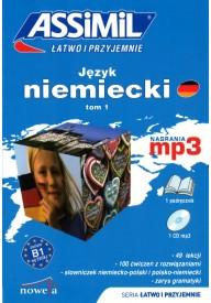 Język niemiecki łatwo i przyjemnie tom 1 książka + MP3