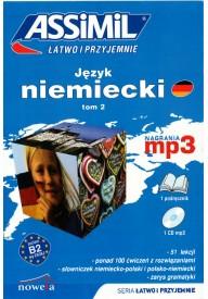 Język niemiecki łatwo i przyjemnie tom 2 książka + MP3