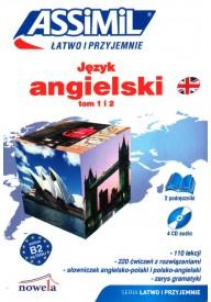 Język angielski Łatwo i przyjemnie tom 1 i 2 + CD /4/