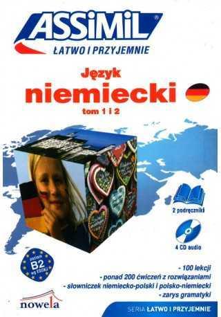 Język niemiecki Łatwo i przyjemnie tom 1 i 2 + CD /4/