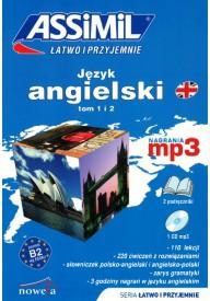 Język angielski Łatwo i przyjemnie tom 1 i 2 + MP3