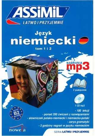 Język niemiecki łatwo i przyjemnie tom 1 i 2 + MP3