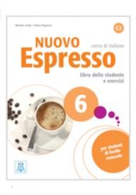 Nuovo Espresso 6 podręcznik + ćwiczenia + CD audio