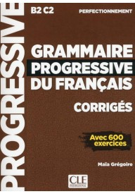 Grammaire progressive du Francais Perfectionnement kllucz B2-C2