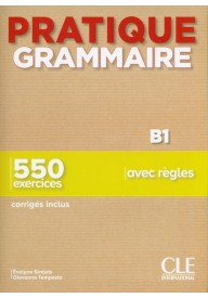 Pratique Grammaire B1 podręcznik + klucz