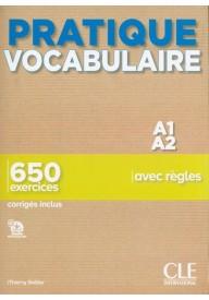 Pratique Vocabulaire A1/A2 podręcznik + klucz