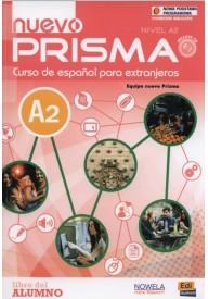 Nuevo Prisma A2 podręcznik PW + CD audio