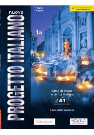 Nuovo Progetto Italiano 1A podręcznik + zawartość online ed. PL
