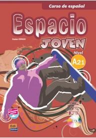 Espacio joven A2.1 podręcznik + zawartość online