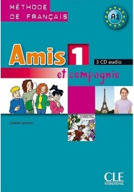 Amis et compagnie 1 CD audio /3/