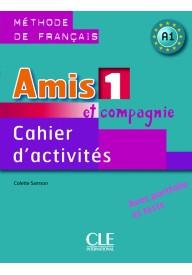 Amis et compagnie 1 ćwiczenia + CD audio