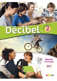 Decibel 2 podręcznik + CD MP3 + DVD