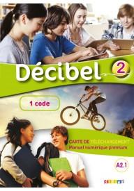 Decibel 2 karta 1 kod