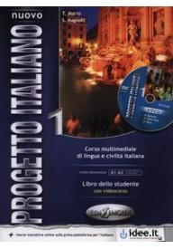 Nuovo Progetto italiano 1 podręcznik + DVD