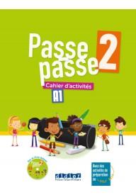 Passe-Passe 2 ćwiczenia A1 + CD MP3